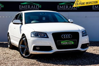 2012 AUDI A3 2.0 SPORTBACK TDI S LINE SPECIAL EDITION 5d 138 BHP £10500.00