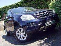 2007 MERCEDES-BENZ M CLASS 3.0 ML280 CDI SE 5d AUTO 188 BHP £6499.00