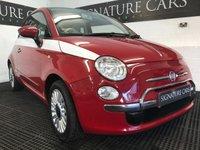 2010 FIAT 500 1.2 LOUNGE 3d 69 BHP £5000.00