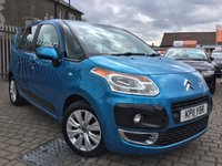 USED 2011 11 CITROEN C3 PICASSO 1.6 PICASSO VTR PLUS HDI 5d 90 BHP PRICE INCLUDES A 6 MONTH RAC WARRANTY, 1 YEARS MOT WITH 12 MONTHS FREE BREAKDOWN COVER