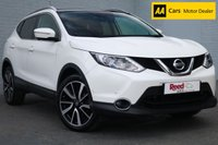 USED 2014 14 NISSAN QASHQAI 1.5 DCI TEKNA 5d 108 BHP FULL SERVICE HISTORY, 1 KEEPER, HEATED LEATHER, 360 DEGREE PARKING CAMERA