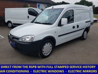 2011 VAUXHALL COMBO DIRECT FROM THE RSPB WITH AIR CON & ELECTRIC WINDOWS £2995.00