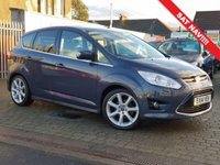 USED 2014 14 FORD C-MAX 1.6 TITANIUM X TDCI 5d 114 BHP CHECK OUR.  EDINBURGH CAR STORE WEB SITE  WE HAVE OVER  50  CARS IN STOCK