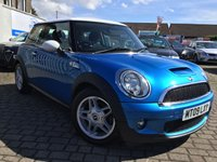 USED 2009 09 MINI HATCH COOPER 1.6 COOPER S 3d 172 BHP PRICE INCLUDES A 6 MONTH RAC WARRANTY, 1 YEARS MOT WITH 12 MONTHS FREE BREAKDOWN COVER