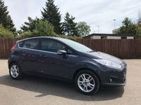 2015 FORD FIESTA 1.25 ZETEC 5d ONLY ONE PRIVATE OWNER FROM NEW £6750.00