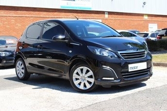 2016 PEUGEOT 108 1.0 ACTIVE 5d AUTO 68 BHP £7000.00