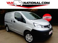 2015 NISSAN NV200 1.5 DCI ACENTA 90 BHP (ONE OWNER REVERSE CAMERA AND AIR CON) £7700.00