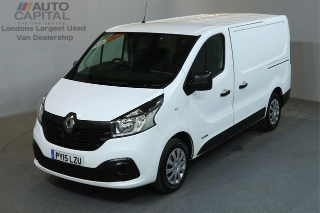 2015 15 RENAULT TRAFIC 1.6 SL27 BUSINESS PLUS 115 BHP L1 H1 SWB LOW ROOF A/C 2 OWNER FROM NEW, MOT UNTIL 19/04/2019