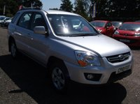 USED 2010 10 KIA SPORTAGE 2.0 XE CRDI 5d 138 BHP SPACIOUS  FAMILY CAR WITH EXCELLENT SERVICE HISTORY, GREAT SPEC, DRIVES SUPERBLY, OUTSTANDING VALUE !!!