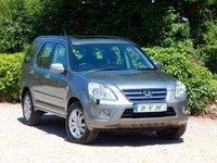 2005 HONDA CR-V 2.2 I-CTDI EXECUTIVE 5d 138 BHP £4370.00