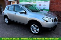 USED 2013 63 NISSAN QASHQAI 1.5 ACENTA DCI 5d 110 BHP +Just Serviced +July 2019 MOT.
