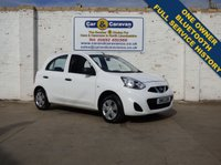 USED 2015 15 NISSAN MICRA 1.2 VISIA 5d 79 BHP One Owner Full Service History 0% Deposit Finance Available