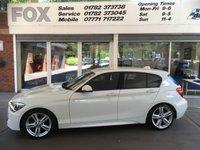 2013 BMW 1 SERIES 1.6 116I M SPORT 5d AUTO 135 BHP £11795.00