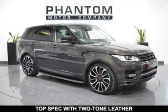 2015 LAND ROVER RANGE ROVER SPORT 4.4 AUTOBIOGRAPHY DYNAMIC 5d AUTO 339 BHP £48990.00