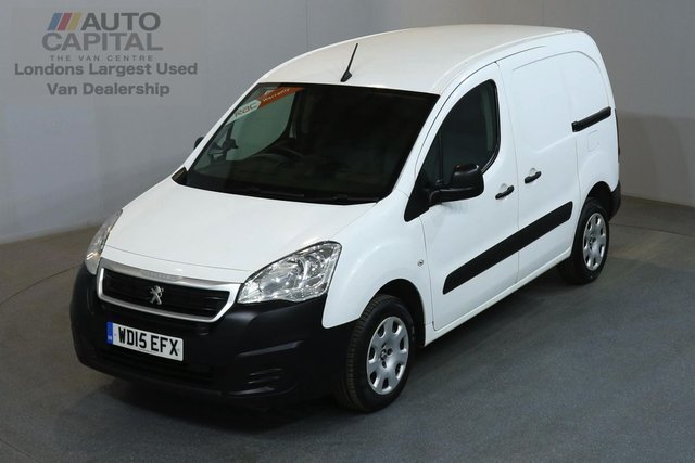 2015 15 PEUGEOT PARTNER 1.6 HDI PROFESSIONAL 92 BHP L1 H1 SWB LOW ROOF AIR CON    ONE OWNER, FULL SERVICE HISTORY