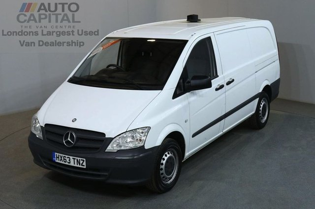 2013 63 MERCEDES-BENZ VITO 2.1 113 CDI 5d 136 BHP LWB FWD DIESEL MANUAL  PANEL VAN