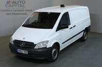 USED 2013 63 MERCEDES-BENZ VITO 2.1 113 CDI 5d 136 BHP LWB FWD DIESEL MANUAL  PANEL VAN  ONE OWNER FULL SERVICE HISTORY