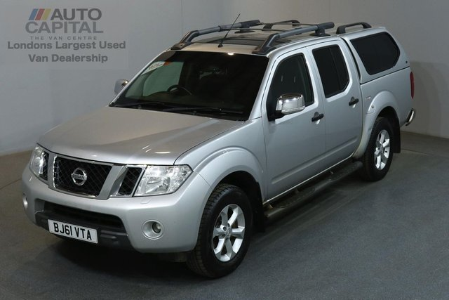 2011 61 NISSAN NAVARA 2.5 DCI TEKNA 4X4 188 BHP AUTO AIR CON LEATHER SEAT  ONE OWNER, AIR CONDITION, FULL SERVICE HISTORY