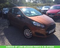 2015 FORD FIESTA 1.5 STYLE TDCI £7489.00