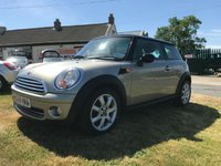 2010 MINI HATCH COOPER 1.6 COOPER CHILLI 2 owners last owner 6 years fsh sought after colour  £4595.00