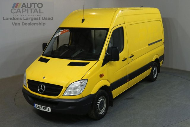 2013 13 MERCEDES-BENZ SPRINTER 2.1 313 CDI 129 BHP MWB HIGH ROOF A/C REAR FOLD-AWAY SHELVES