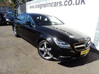 """USED 2012 62 MERCEDES-BENZ CLS CLASS 3.0 CLS350 CDI BLUEEFFICIENCY AMG SPORT 5d AUTO 262 BHP 18""""Alloys+Navigation+History+Bluetooth"""