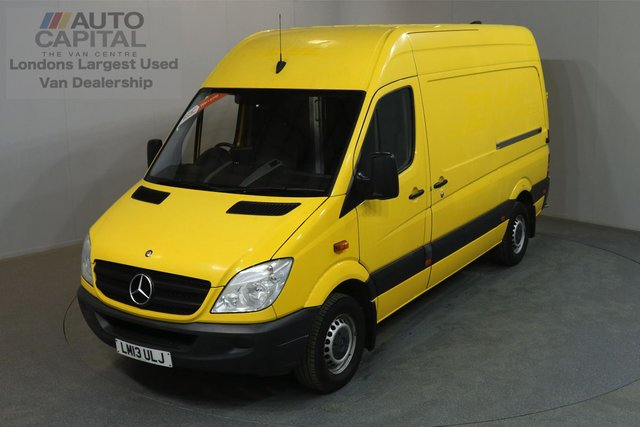 2013 13 MERCEDES-BENZ SPRINTER 2.1 313 CDI 129 BHP MWB HIGH ROOF A/C ONE OWNER FROM NEW, FULL SERVICE HISTORY