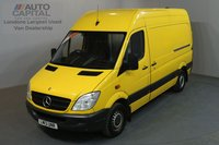 USED 2013 13 MERCEDES-BENZ SPRINTER 2.1 313 CDI 129 BHP MWB HIGH ROOF A/C ONE OWNER FROM NEW, FULL SERVICE HISTORY