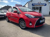 USED 2016 65 TOYOTA YARIS 1.3 VVT-I ICON 5d 99 BHP 12519 Miles, Reverse Camera, Manufacture Warranty!