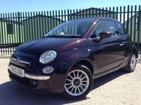 2013 FIAT 500 1.2 C LOUNGE 3d 69 BHP CONVERTIBLE AIR CON ALLOYS FSH MOT 05/19 £6690.00