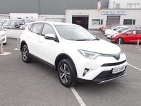 USED 2017 67 TOYOTA RAV4 2.0 D-4D BUSINESS EDITION TSS 5d 143 BHP £500 DEPOSIT ONLY£351.05 PER MONTH