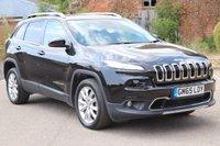 2015 JEEP CHEROKEE 2.2 M-JET II LIMITED 5d AUTO 197 BHP £18995.00