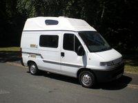 2000 PEUGEOT BOXER 2.4 270 SWB D 1d 84 BHP MOTORHOME 4 BERTH £7995.00