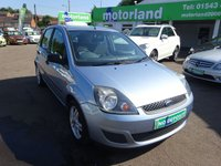 USED 2007 07 FORD FIESTA 1.2 STYLE CLIMATE 16V 5d 78 BHP **JUST ARRIVED ..LOW MILEAGE..ALLOY WHEELS **