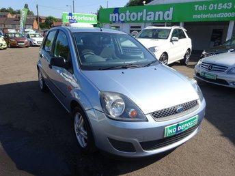 2007 FORD FIESTA 1.2 STYLE CLIMATE 16V 5d 78 BHP £2500.00