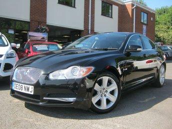 2008 JAGUAR XF 2.7 PREMIUM LUXURY V6 4d AUTO 204 BHP
