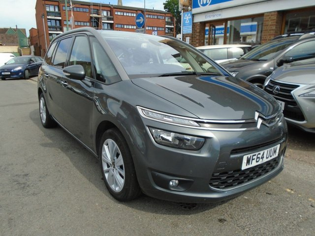 2014 64 CITROEN C4 GRAND PICASSO 1.6 E-HDI AIRDREAM EXCLUSIVE PLUS ETG6 5d AUTO 113 BHP