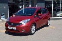 2015 NISSAN NOTE 1.2 ACENTA PREMIUM DIG-S 5d AUTO 98 BHP £8995.00