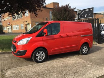 2013 FORD TRANSIT CUSTOM 2.2TDCI 290 LIMITED LOW ROOF 155BHP. AIR CON. ONLY 41K LOW MLS £11950.00