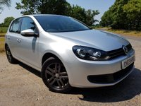 USED 2010 10 VOLKSWAGEN GOLF 1.6 SE TDI 5d ALLOYS & A/C