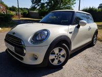2014 MINI HATCH ONE 1.5 ONE D 3d PARK SENSORS CLIMATE CONTROL £6350.00