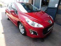2012 PEUGEOT 308 1.6 HDI ACTIVE 5d 92 BHP £3999.00