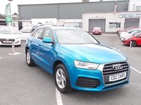 2017 AUDI Q3 2.0 TDI SPORT 5d 148 BHP drive away from £351.83 per month 1payment up front £SOLD