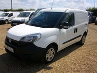 USED 2015 65 FIAT DOBLO 1.2 16V MULTIJET 1d 90 BHP 2015 ONE OWNER FROM NEW CHOICE OF 7 IN STOCK.