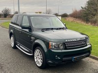USED 2010 10 LAND ROVER RANGE ROVER SPORT 3.0 TDV6 HSE 5d AUTO 245 BHP SAT NAV, DAB, IVORY LEATHER