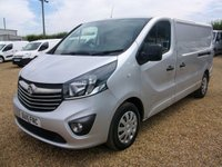 USED 2015 15 VAUXHALL VIVARO 1.6 2900 L2H1 CDTI P/V SPORTIVE 1d 114 BHP 2015 ONLY 39000 MILES ONE OWNER FROM NEW