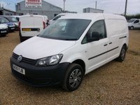 USED 2015 15 VOLKSWAGEN CADDY 1.6 C20 TDI STARTLINE 1d 101 BHP 2015 AIR CONDITIONING + ELECTRIC PACK