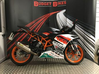 View our KTM RC 390