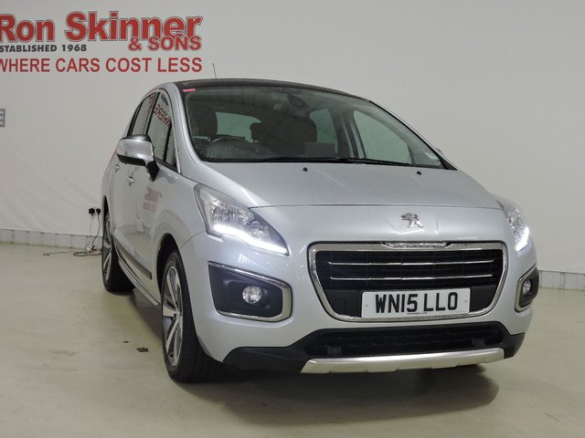 View our 2015 15 PEUGEOT 3008 (110)   1.6 HDI ALLURE 5d 115 BHP