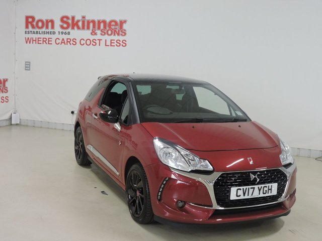 View our 2017 17 DS DS 3 (12)    1.2 PURETECH PERFORMANCE LINE S/S 3d 129 BHP